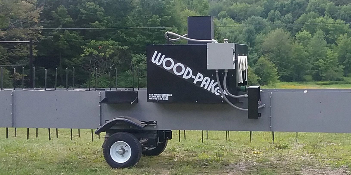 WoodPaker-Wood Bundling Machine